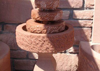 Brunnen Pyramide