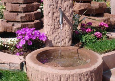 Massivbrunnen altdeutsch D= ca. 60cm x 30cm H