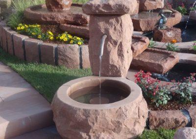Massivbrunnen bossiert D= 60cm x 30cm H