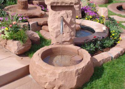 Massivbrunnen rustikal D= 60cm x 30cm H