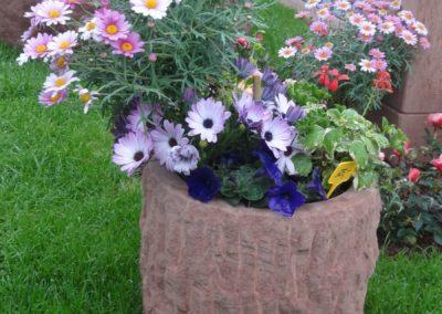 k-Blumentrog rund altdeutsch