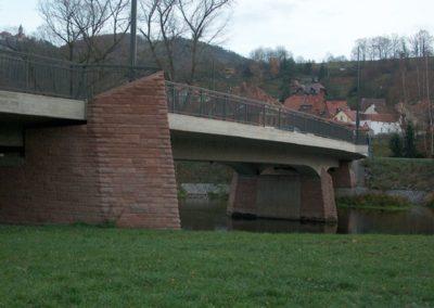 k-Brücke Kahla Unregelmäßiges Schichtmauerwerk bossiert Höhen 11, 17, 29,5 (4)