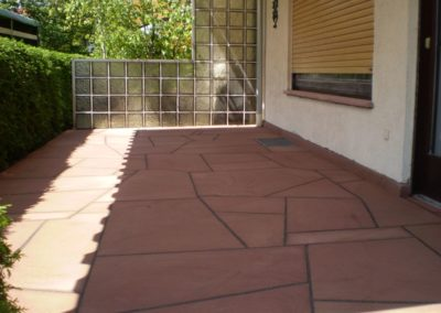 k-Bruchplatten polygonal verlegt