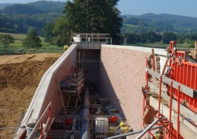 k-Fischbachtal Unregelmäßiges Schichtmauerk Ansicht bossiert 11, 17, 29,5 H