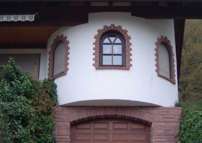 k-Garagen- und Fensterverkleidung Bossen-Klebersteine