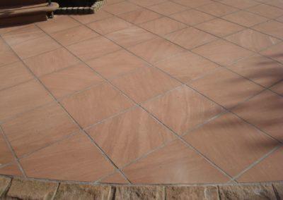 k-Maßplatten diagonal