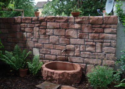 k-Mauersteine mit int. Blumentrog