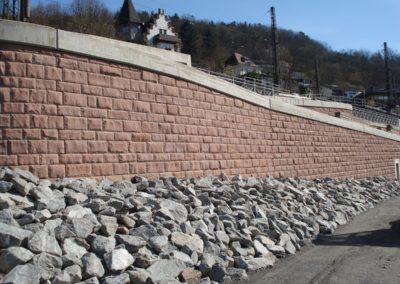 k-Neckarsteinach regelmäßiges Schichtmauerwerk, bossiert 17, 23