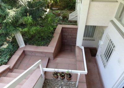 k-Treppenabgang diamantgesägt