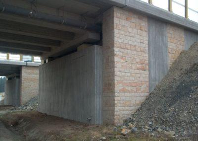 k-Verblendung bossiert Sandstein Gelb Regelmäßiges Schichtmauerwerk (2)